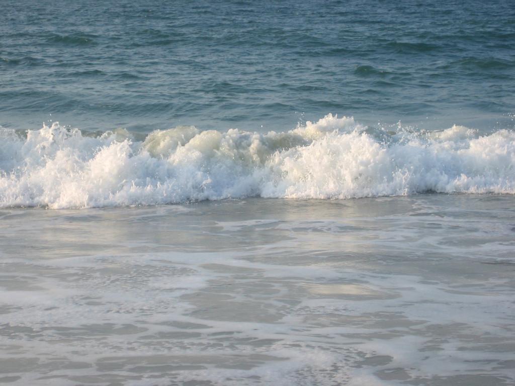 karibik strand wellen