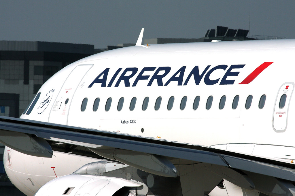 Airfrance Airbus A320 Flugzeug